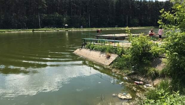Мужчина утонул в водоеме Южный в Подольске