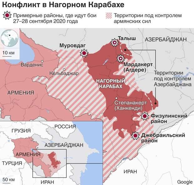 Армения готова к переводу эскалации на новый уровень