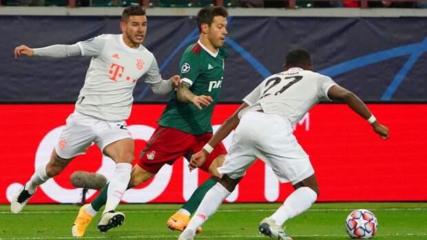 «Локомотив» не был похож на обреченного, но победу увезла «Бавария»