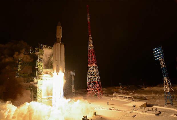 Первый пуск ракеты тяжелого класса «Ангара-А5»