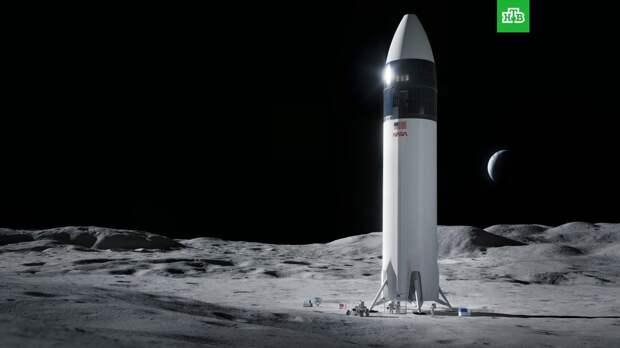 NASA выбрало компанию Маска для доставки астронавтов на Луну