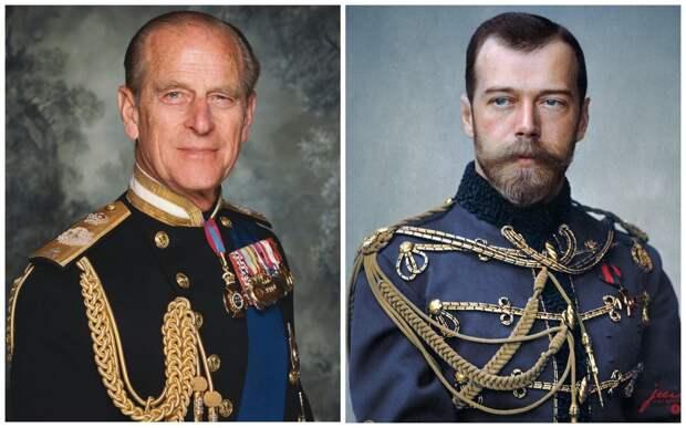 Принц Филипп и Николай II