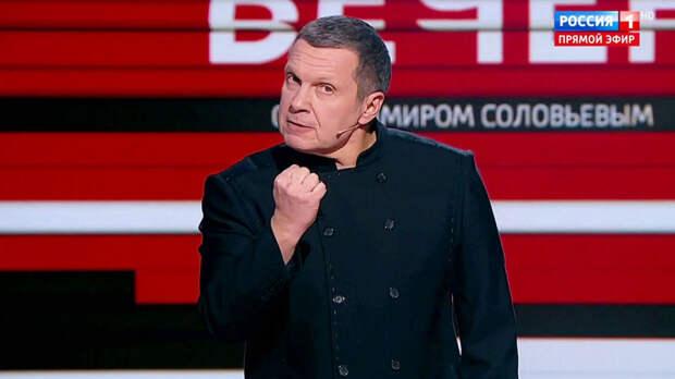 Роман Бабаян громит Соловьева. Рейтинг доверия ТВ-ведущим