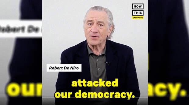 Де Ниро посоветовали отправиться на необитаемый остров после съемки в антироссийском ролике