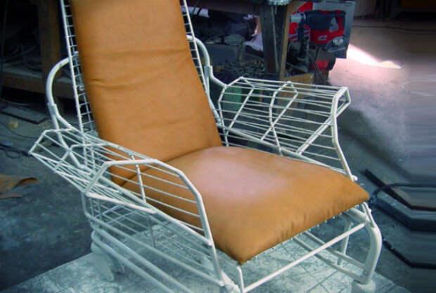 Кресло из сушилки.