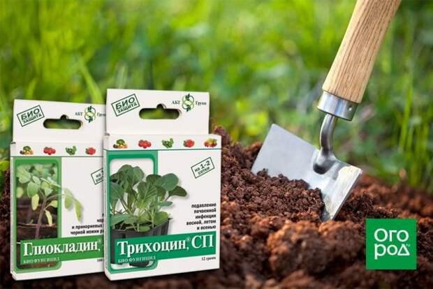 Биопрепараты для обработки почвы