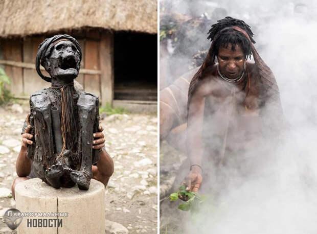 Дикие племена: Копченые предки племени дани