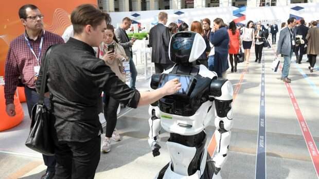 Робот «Маркер» будет бороться с нарушителями с помощью дронов и сетей