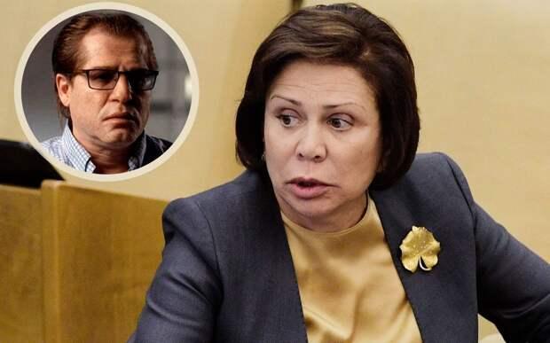 Роднина назвала Родченкова сумасшедшим: «Любой негатив в отношении России на всех влияет магически»