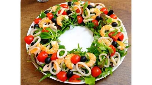 Украшение салатов на Новый 2021 год: как украсить, самые лучшие идеи37