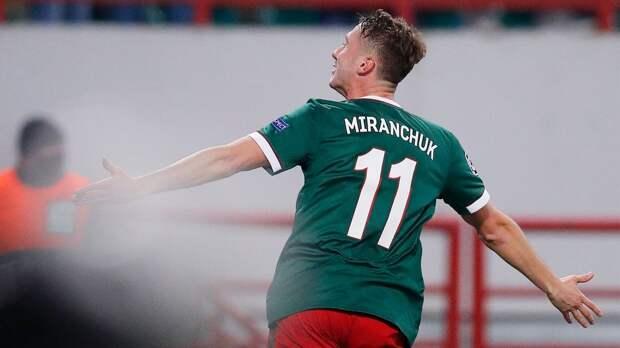 Николич: «Антон Миранчук будет готов к матчу со «Спартаком»
