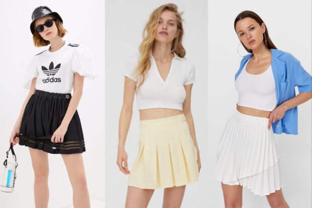 Теннисная юбка — самая универсальная и модная вещь...