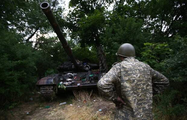 Тайна артемовской танковой базы.