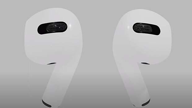 Живой снимок новых наушников AirPods 3 от Apple попал в Сеть до презентации