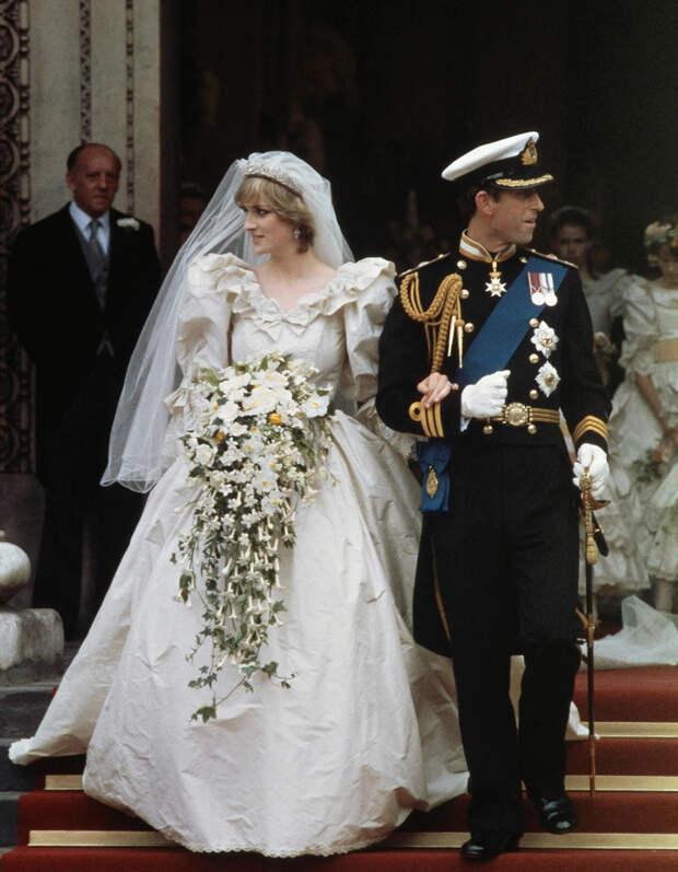 Принц Чарльз и Диана свадьба