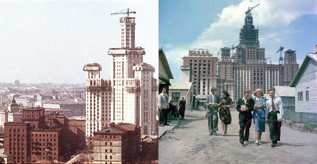 Знаменитые кадры с крупных строек в российской и советской истории