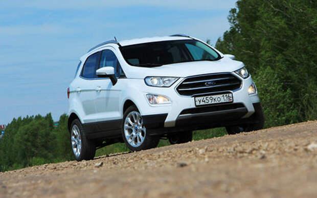 Ford EcoSport: специально для России