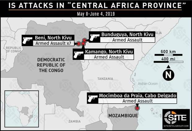 Боевики ИГИЛ захватили портовый город в Мозамбике