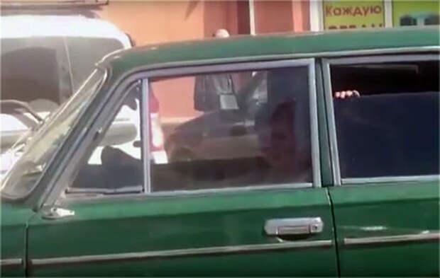 В Новороссийске за рулем «шестерки» замечен малолетний Вин Дизель