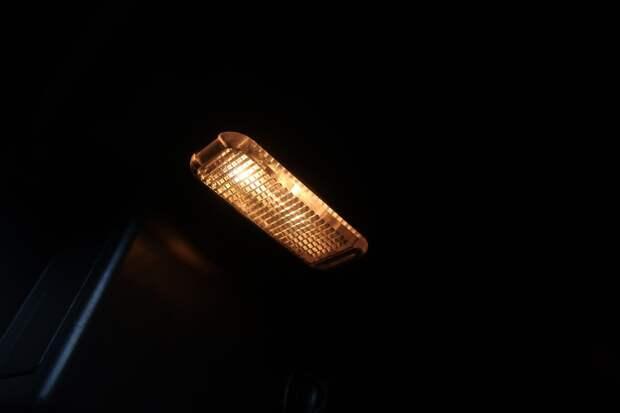 подсветка в бардачке