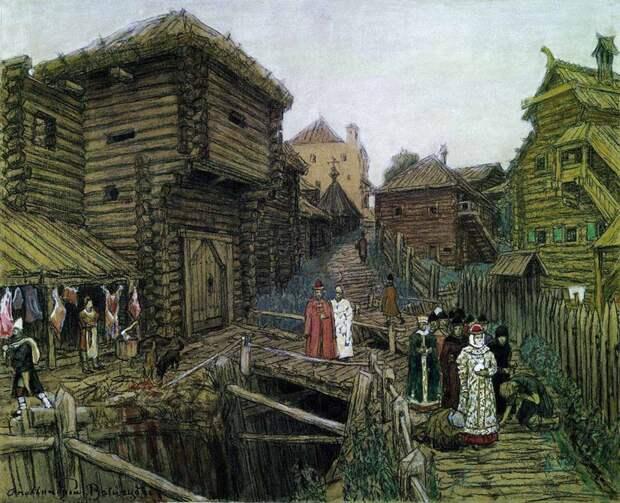 Купеческие корпорации средневековой Москвы ( XIV в.).