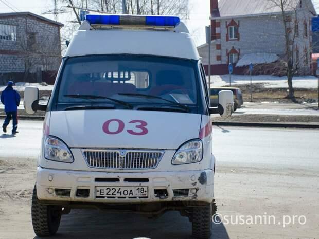 Решительная пенсионерка из Воткинска получила травмы, спускаясь по простыням из запертой квартиры
