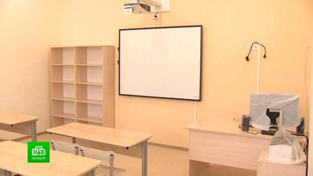 Завершается реконструкция старейшей школы Петербурга