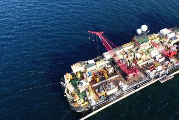 """Швейцарская компания вывела из Балтийского моря строившие """"Северный поток -2"""" суда"""