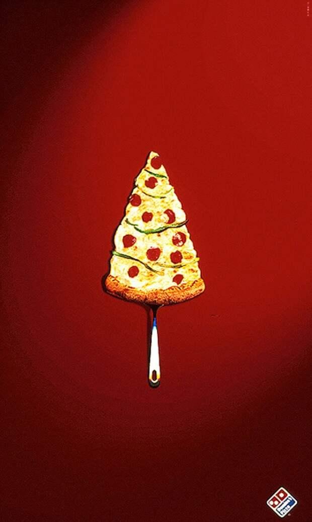 Реклама по-новогоднему