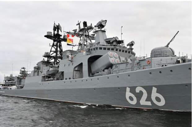 В Китае заметили «грозный сигнал» Западу от российского флота