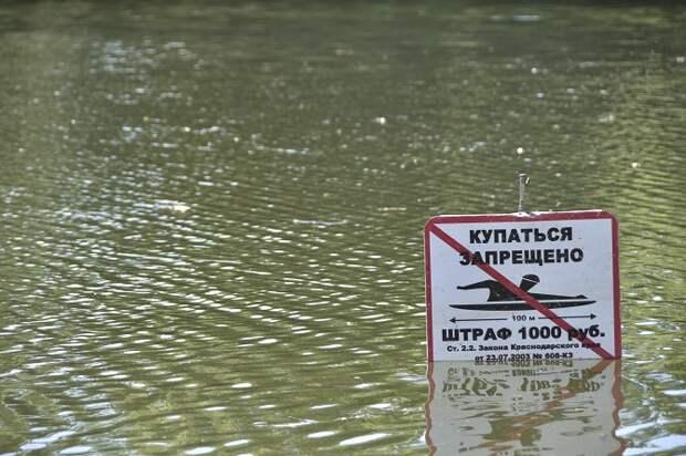 В Краснодаре с начала года утонули 14 человек