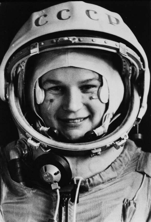 Первая в космосе