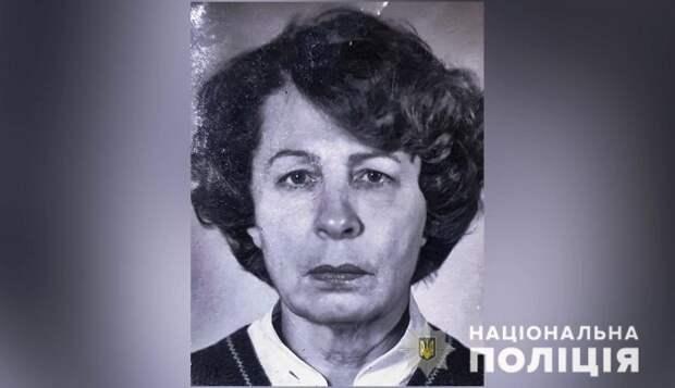 В Полтавской области разыскивают пропавшую без вести пожилую женщину