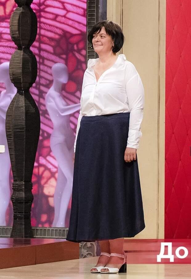 Муж привел похудевшую на 100 кг супругу на «Модный приговор», чтобы ее научили, как одеваться