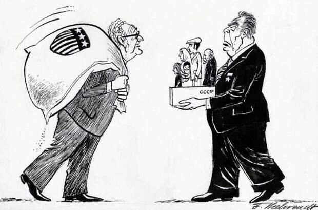 Торговый оборот — американские деньги в обмен на возможность для эмиграции советских евреев (1975 год)