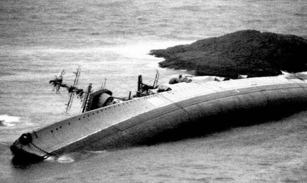 Вскоре после кораблекрушения.