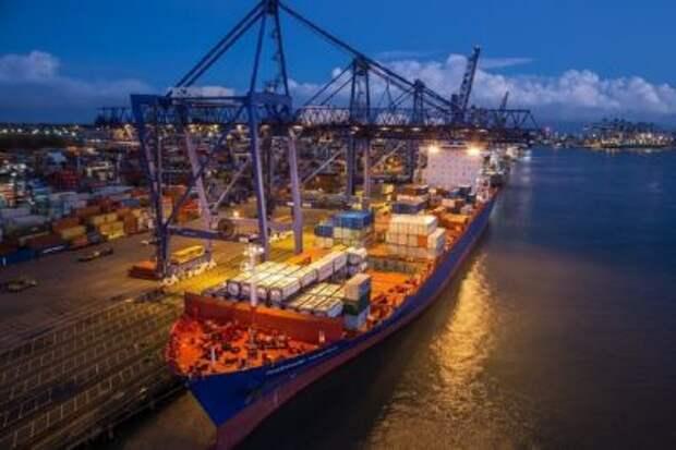 Грузооборот морских портов РФ за первое полугодие 2020 года увеличился на 0,1%