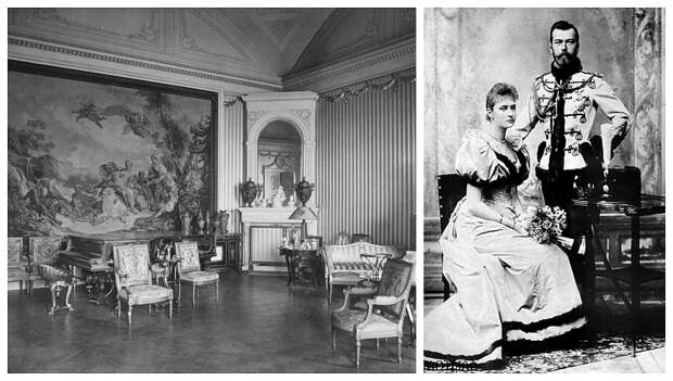 Решение квартирного вопроса по-царски: где жили Николай II с молодой женой