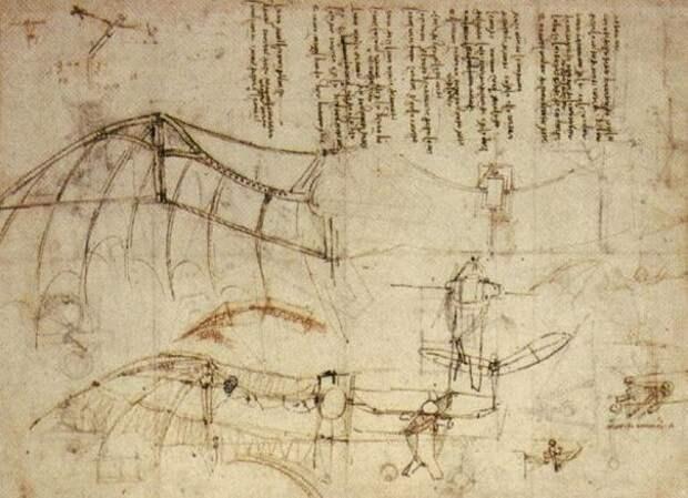 Рисунки Леонардо да Винчи