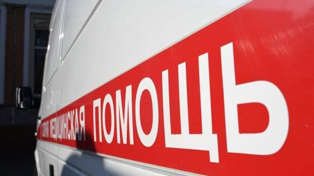 Автобус сбил пешехода в центре Москвы