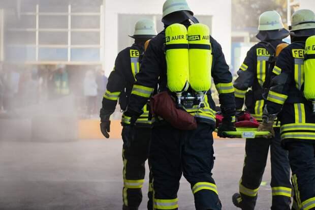 На Соколово-Мещерской улице произошел пожар