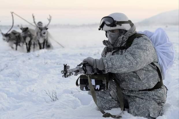 Российская армия имеет высокую боеспособность в любых экстремальных погодных условиях