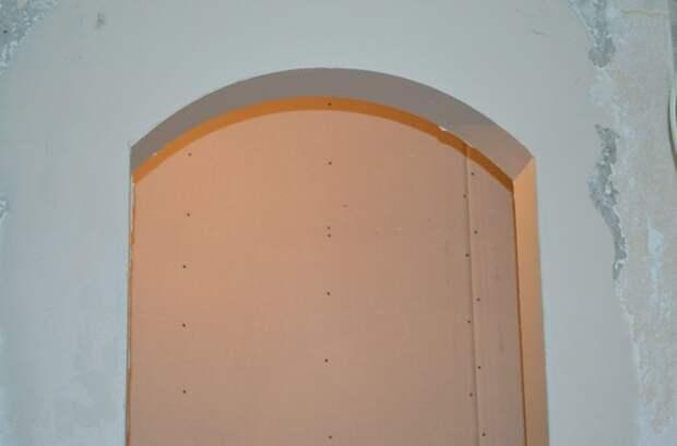 Как правильно делать арки из гипсокартона?