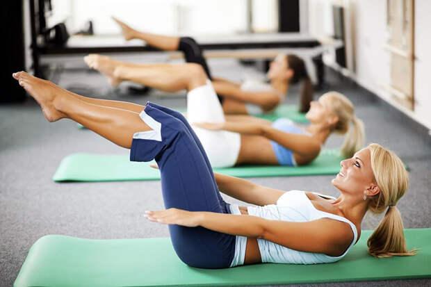 ПИЛАТЕС: Упражнения для тонкой талии