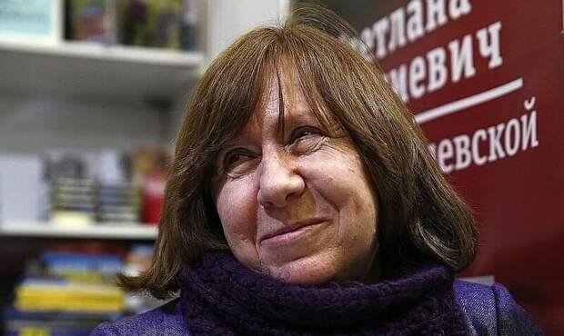 Светлана Алексиевич: Русские = очень агрессивные и опасные для мира люди
