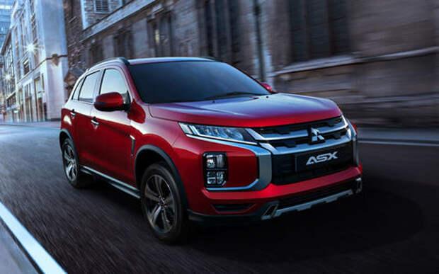 Mitsubishi представит обновленный ASX в Женеве