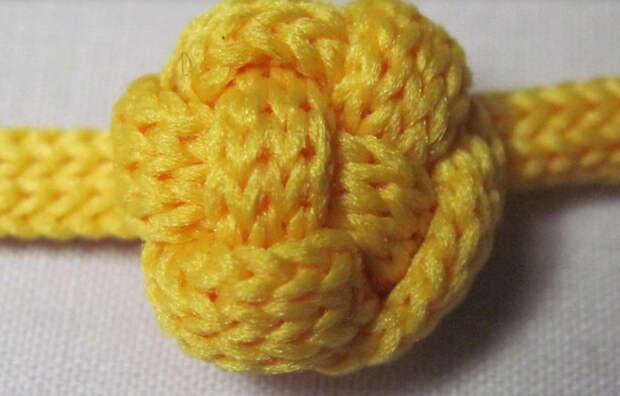 Плетеные пуговицы-шарики своими руками… Смотрятся просто и красиво!