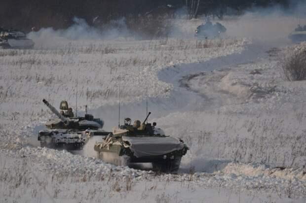 На Урале танковую дивизию подняли по тревоге