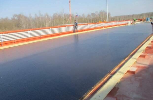 Афанасьевский мост в Воскресенске откроют раньше срока