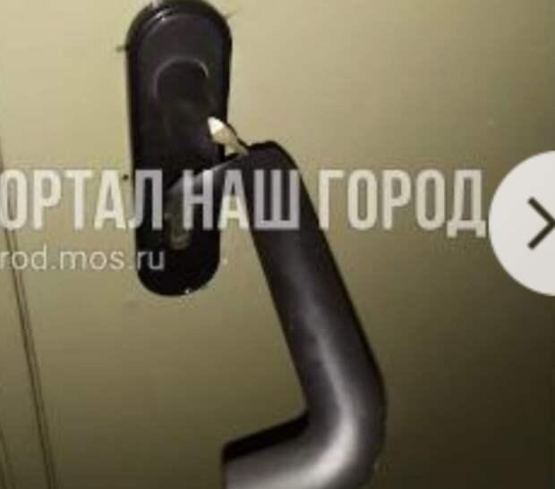 Дверь теперь с легкостью закрывается в доме в Ташкентском переулке